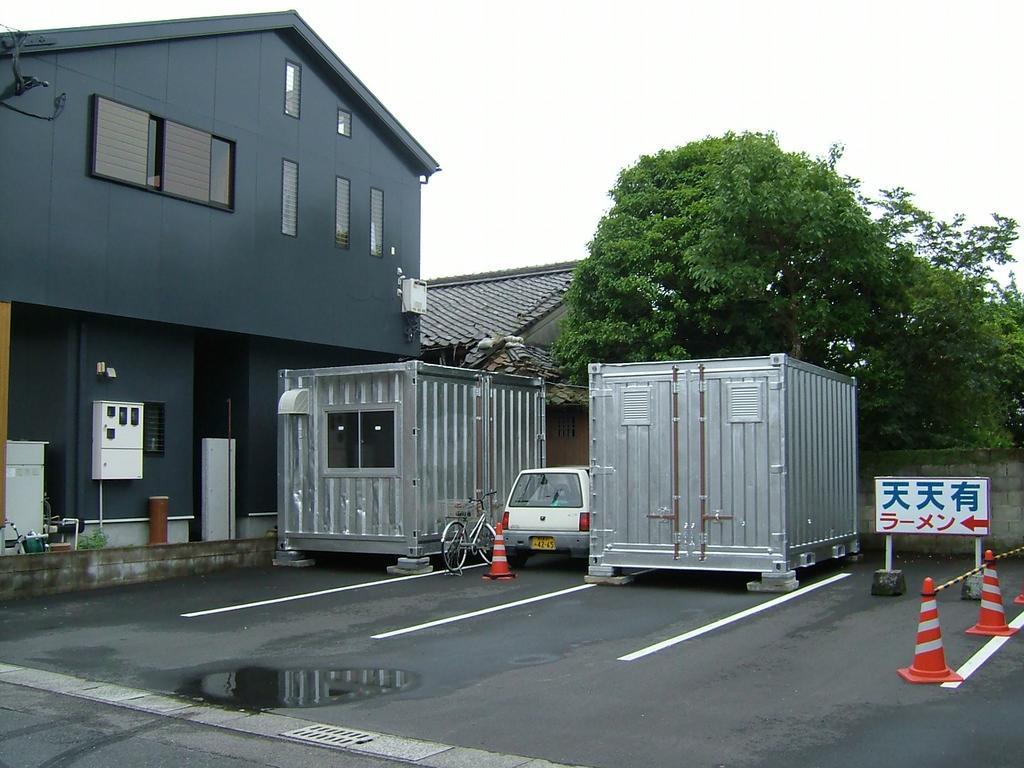 コンテナ製 駐車場 倉庫