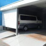 コンテナシャッター付き車庫 ガレージ