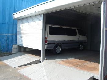 コンテナ製車庫 ガレージ