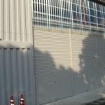 コンテナ自動車整備工場 コンテナが工場に変身