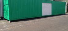 40ftコンテナ倉庫a ロングな保管庫