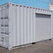コンテナ製 資料保管倉庫