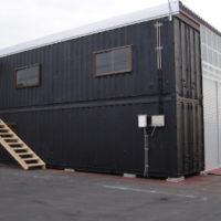 コンテナハウス施工 事務所 兼工場